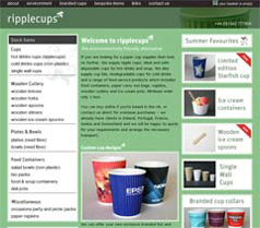 Ripplecups Website